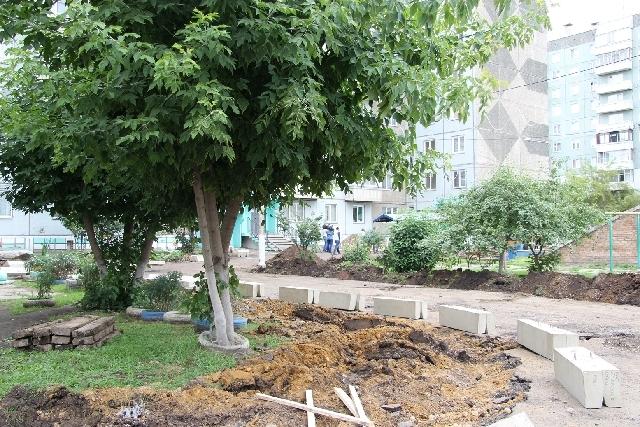 В 2019 году в Красноярске отремонтируют 71 двор
