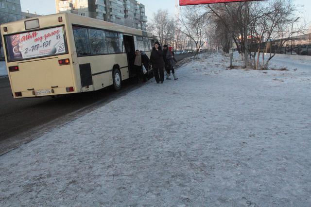 В Красноярке сегодня вышло в рейс 83 % общественного транспорта
