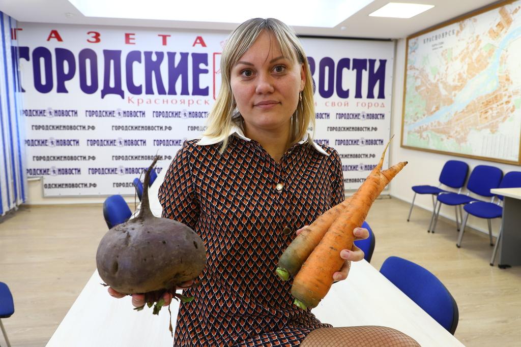 Ждём истории от красноярцев про чудо-урожай
