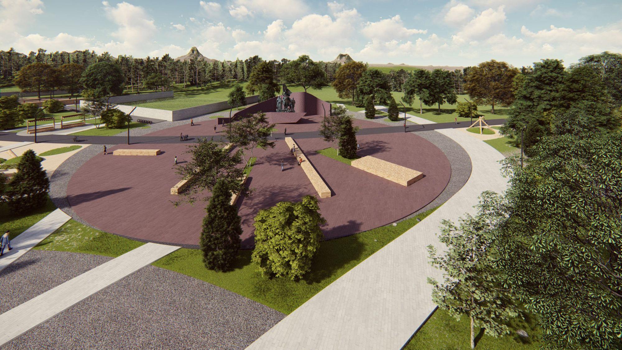 Красноярцам предложили придумать название для нового парка