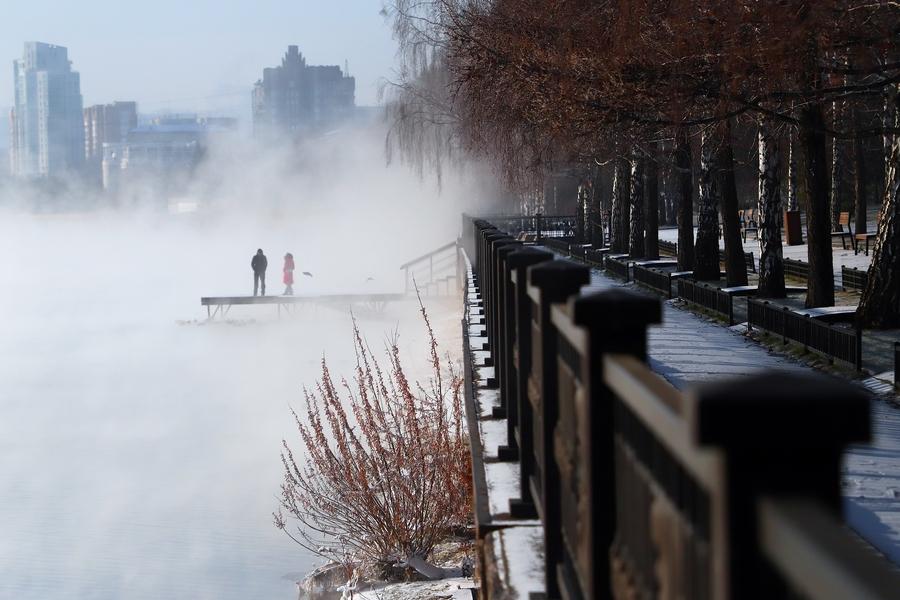 В Красноярске ожидается до 45 градусов мороза
