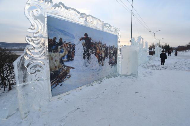 В Красноярске стартует фестиваль «Волшебный лёд Сибири»